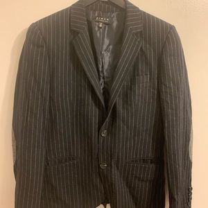 21 Men pinstriped blazer
